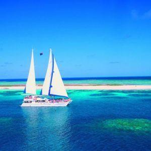 Reef sailing tour