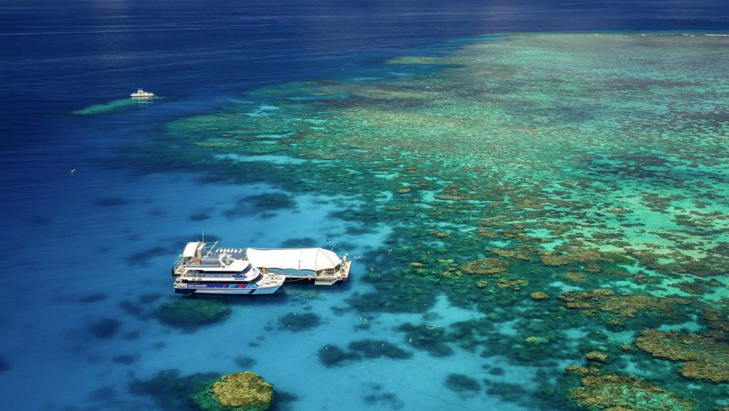 The Outer Barrier Reef Pontoon