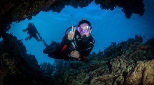 Scuba diving Great Barrier Reef