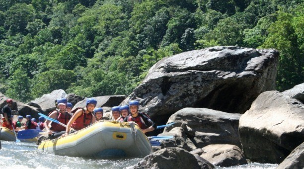 North Queensland  white water Rafting