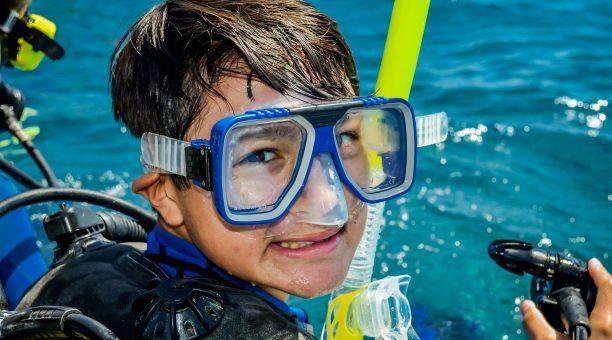 Everyone loves to snorkel